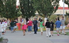 Whitney Greets Parents for Back to School Night