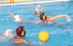 Girls' varsity water polo match ends in defeat, 8-6 Antelope