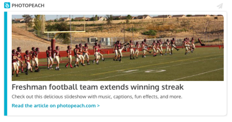 Freshman football team extends winning streak