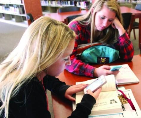 Assistant principal Mrs. Jennifer Hanks explains new app