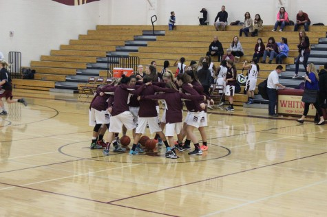Girls' varsity basketball competes with new competitive league