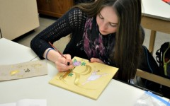 Illuminated manuscript empowers self expression in Art III/IV