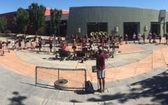 Band camp prepares members for a new season