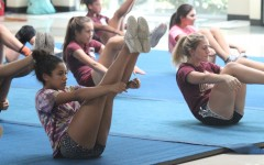 Stunt tumbles onto campus with a new, energetic form of cheer
