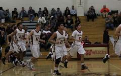Mens' JV  basketball against Roseville ends 69-75