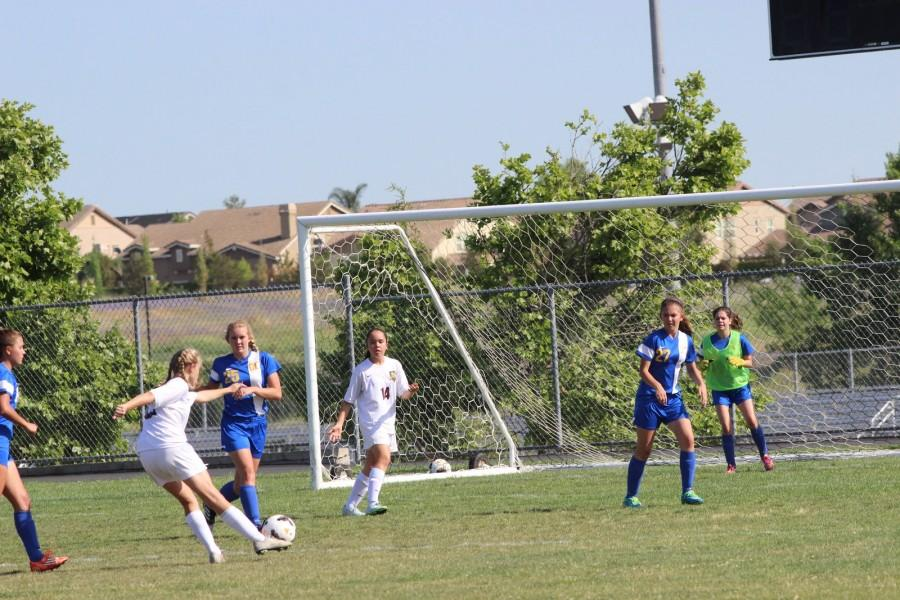 Women's Freshman Soccer beats Del Campo 10-0