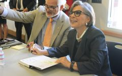Barbara Boxer speaks, meets locals at Roseville farewell ceremony