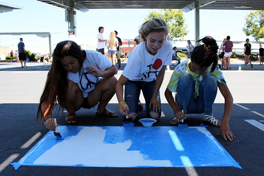 Seniors use media inspiration to create parking spots