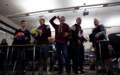 Seniors take part in '1984' simulation in Language Arts IV, AP Literature