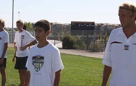 New boys' varsity soccer coach begins season with the team