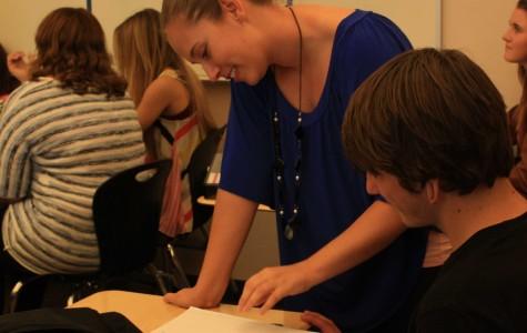 New teacher Nicole Ferguson adjusts to new campus