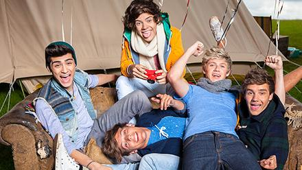 Photo from One Direction Official Website, used with permission under fair use.