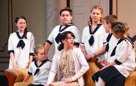 "Maroon cast makes masterpiece of ""Sound of Music"""