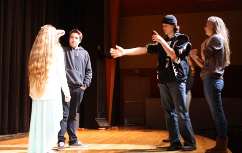 Drama Club makes horror/comedy movie