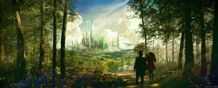 Photo with fair use of Oz the Great and Powerful. Photo from http://disney.go.com/thewizard/#