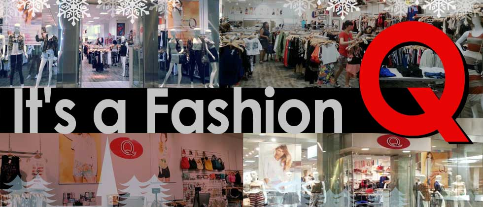Q mode clothing store website