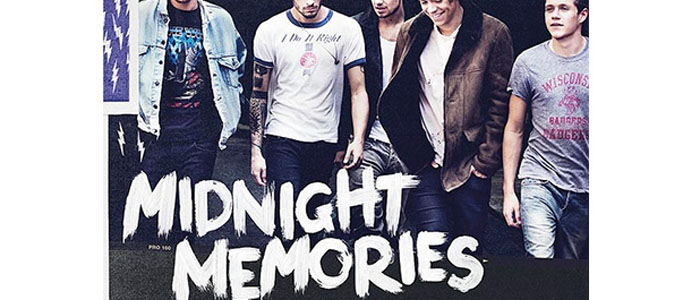 'Midnight Memories' album cover, used with permission.