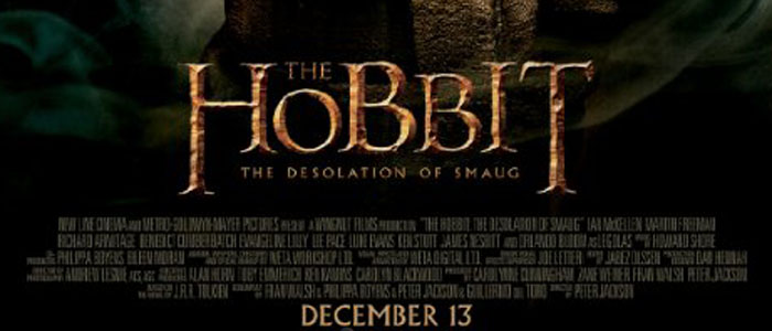 'The Hobbit: Desolation of Smaug' movie poster, used with permission.