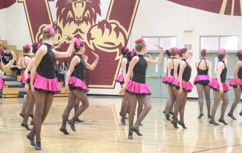 Dance team performs at freshman Showcase Night. Photo by KOLETTE KING