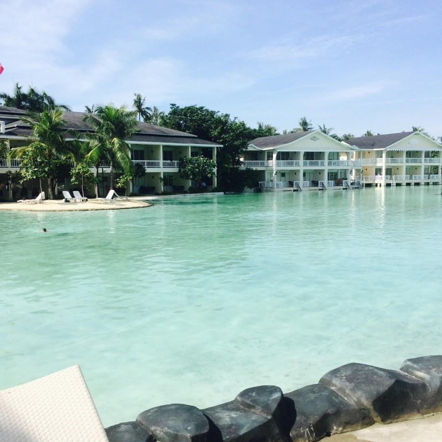 Plantation Bay beach resort in Macatan, Cebu.
