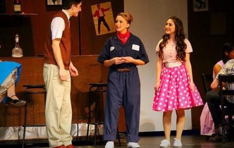 Adkins performs in her last school musical, 'All Shook Up.