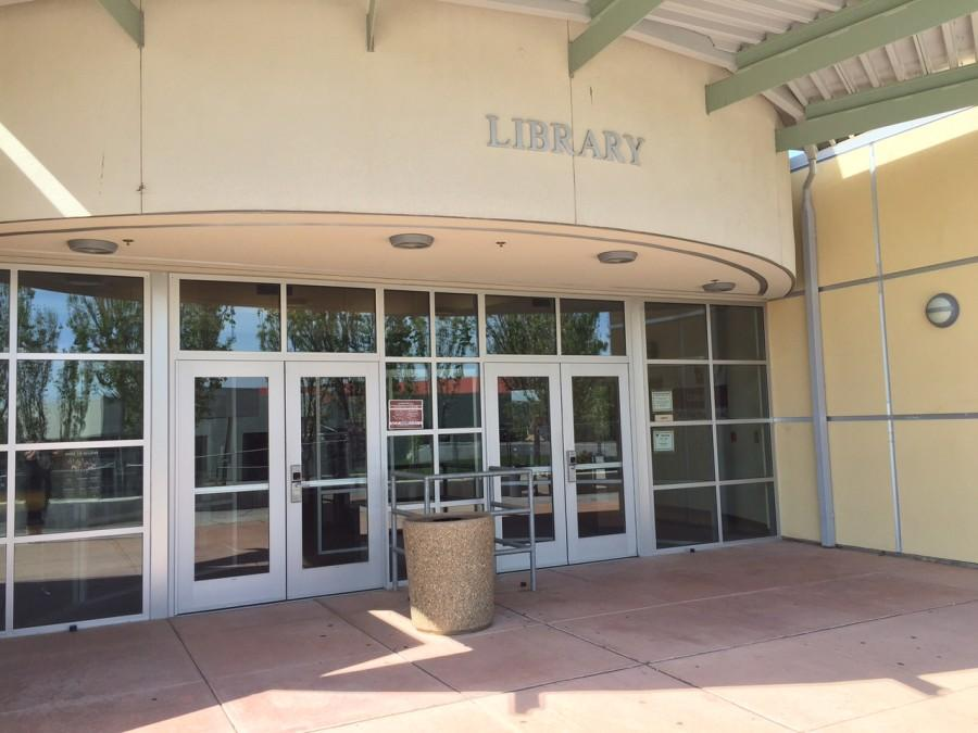 During the month of May, the library will be closing to accomodate students for AP testing. Photo by Harmony Reilly