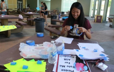 Students campaign for positions in ASB during election week
