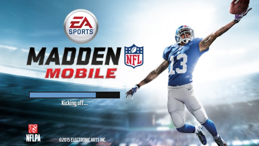 Loading+screen+of+the+new+Madden+app%2C+featuring+Odell+Beckham+Jr.%27s+famous+one-handed+catch.+Screenshot+by+Rylea+Gillis.