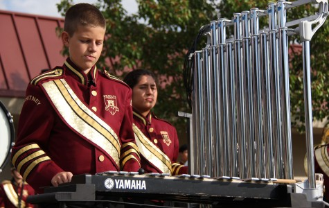 Marching band takes division title, first in high percussion, high brass