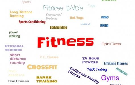 Different fitness options. Illustration by Daniel Sharrah