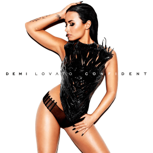 Image from Demi Lovato's official 'Confident' website. Used with permission.