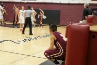 Men's varsity basketball falls to Woodcreek in first game of season