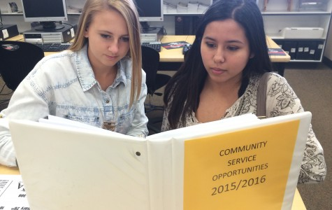 Students rise above, fall below required community service hours