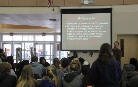 Students attend AP meetings in preparation for next year