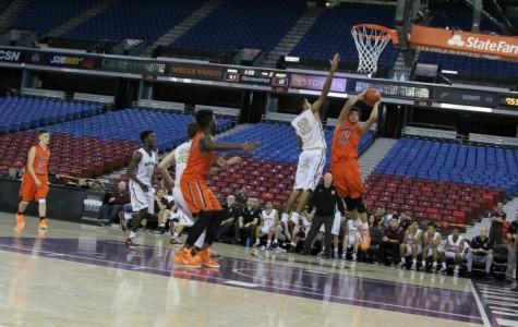 Men's varsity basketball beats Cosumnes Oaks at Sleep  Train Arena