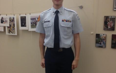 Evan Bowden is an Air Force Brat