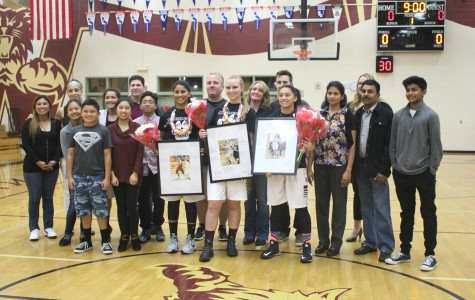 Women's basketball falls to Cosumnes Oaks 68-57 on Senior Night