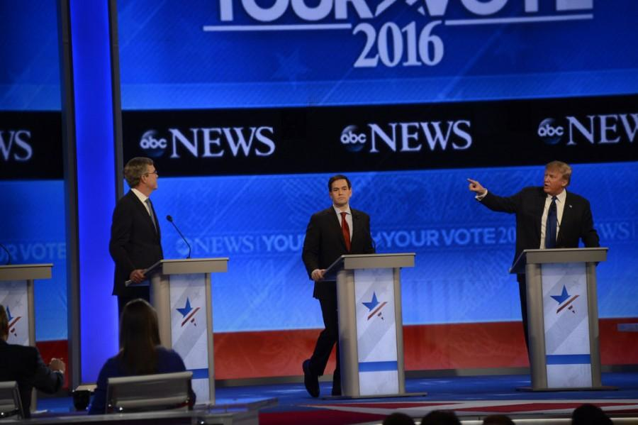 ABC NEWS - 2/6/16 - ABC News David Muir and Martha Raddatz host the Republican Debate from St. Anselm College in Manchester, NH, airing Saturday, Feb. 6, 2015 on the ABC Television Network and all ABC News platforms.(CC BY-ND 2.0))