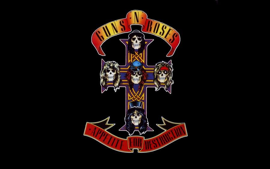 Guns N' Roses' first album, Appetite For Destruction. Image by Lawren. (CC BY 2.0)