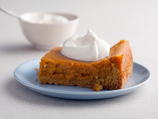 Pumpkin Gooey Butter Cakes; Paula Deen