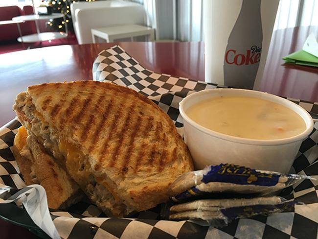 Grilled cheese sandwich from Cheese Louise. Photo by Grace McDonald