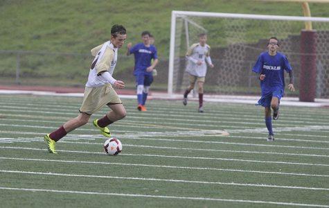 Men's freshman soccer loses to Rocklin 2-1.