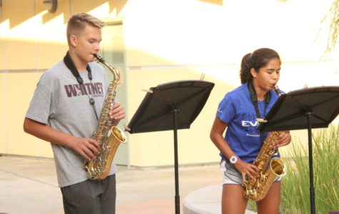 New school, new band, same love for music.