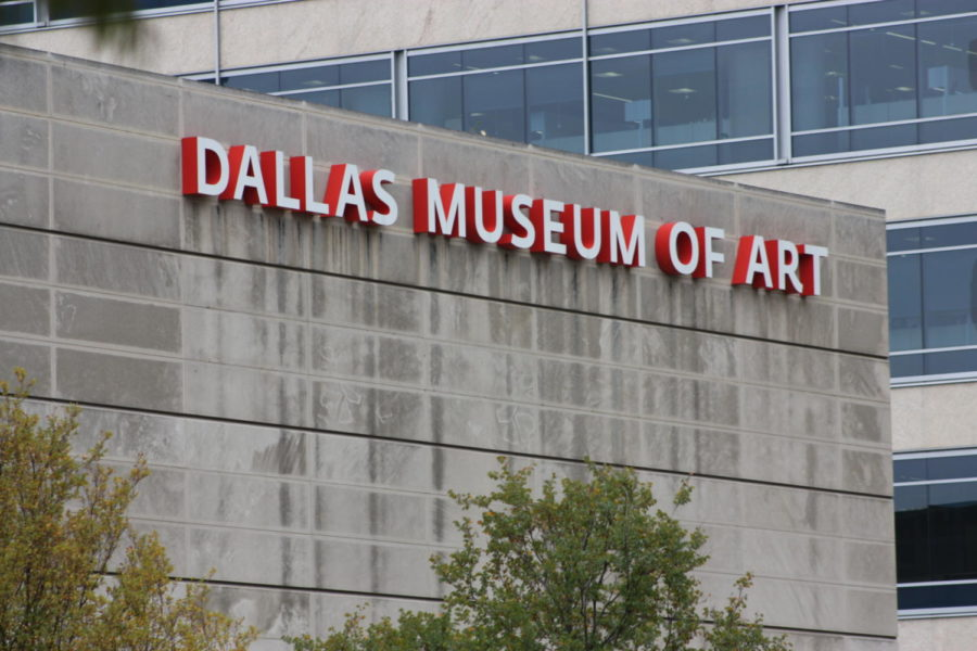After exploring Klyde Warren Park, students head across the street to their next stop, the Dallas Museum of Art.