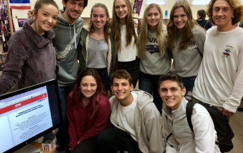 Broadcast presents at a national competition