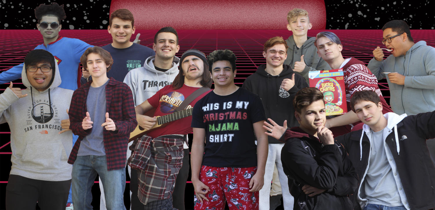 Male students will compete for the Mr. WHS crown Jan. 25 at 7 p.m. Illustration by Adam Purvis