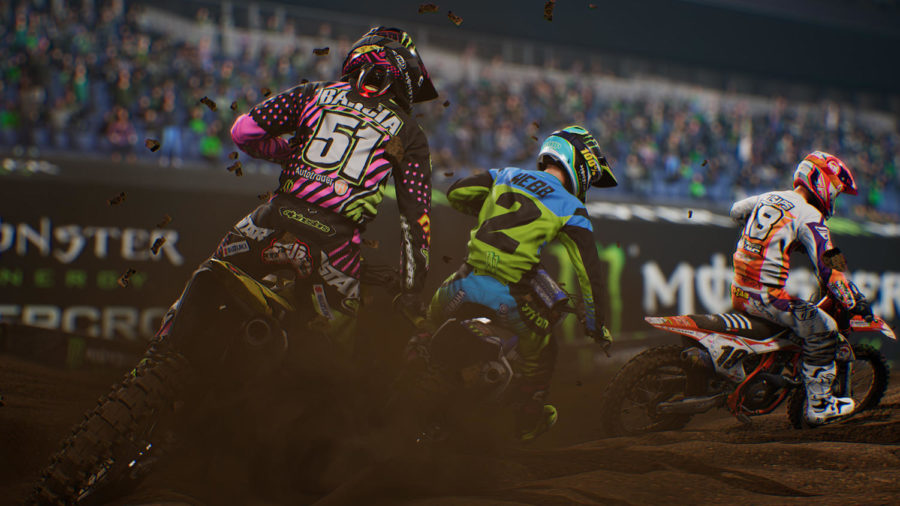 Monster Energy Supercross:The Official Videogame requires major focus with its realistic gameplay