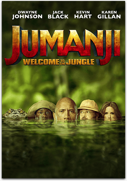 Another exciting thriller, this time it's the new 'Jumanji