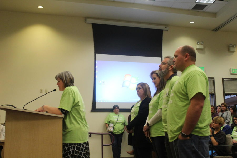 District teachers continue fight for compensation, safety protocols, special education programs at school board meeting