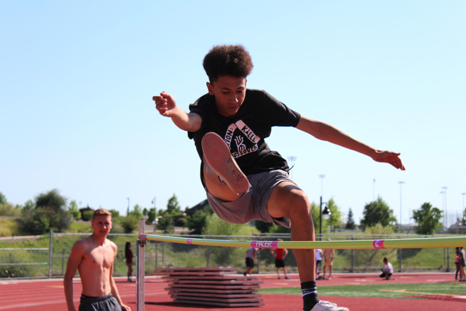 High jump competitors prepare for May 1 meet – Whitney Update
